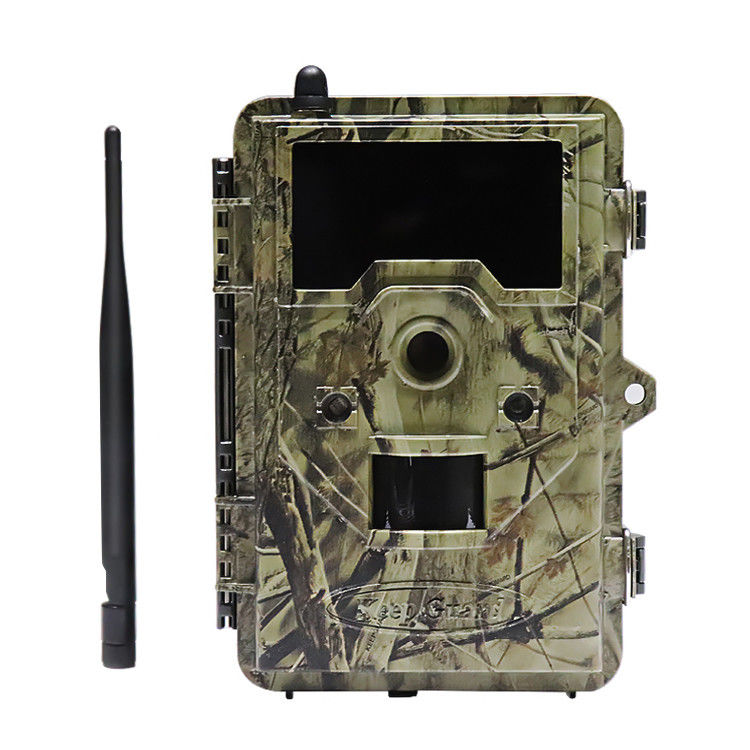 1920*1080P 3G 32 LEDS 6V DC external Trail Camera That Email Pictures / HD Hunting Cameras For Deer