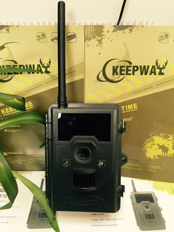 SMTP / GPRS Function 12MP MMS Trail Camera , Digital Wildlife Camera